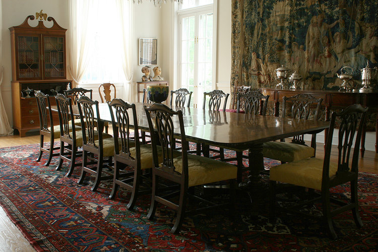 Chippendale Dining Chairs Reproduction Bernacki Associates Inc