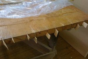 Balsa wood infills
