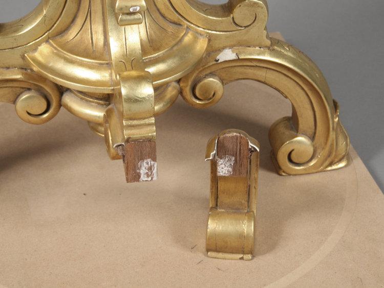Detail of failed prior repair