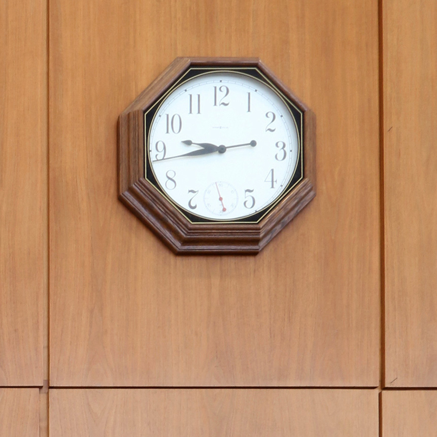 Unoriginal clock | Photo courtesy of GSA