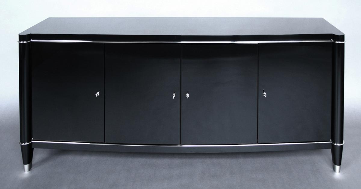 PIANO FINISH BUFFET fabricated by Bernacki & Associates, Inc.