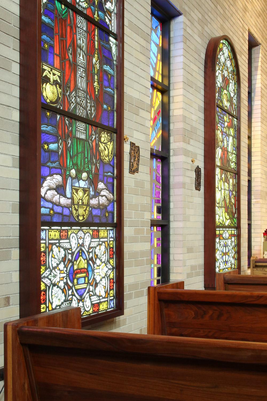 UIC Newman Center chapel detail