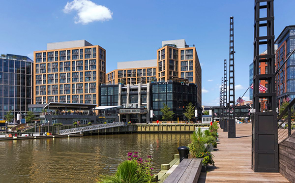 The Channel at District Wharf. Architect: Perkins Eastman DC