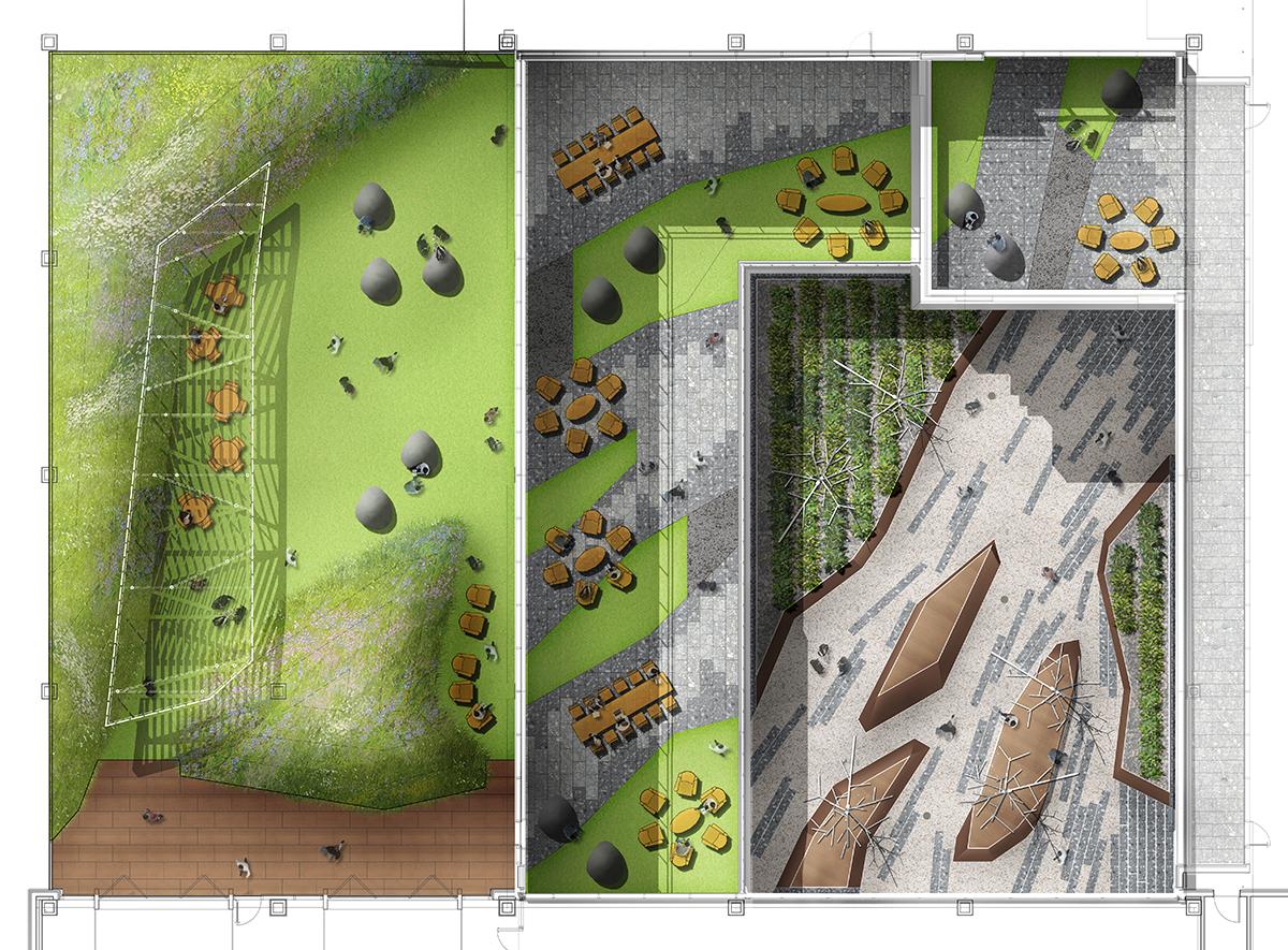 03 - Ballston Macy's Office Terraces - 803-L-100 LANDSCAPE KEY PLAN.jpg