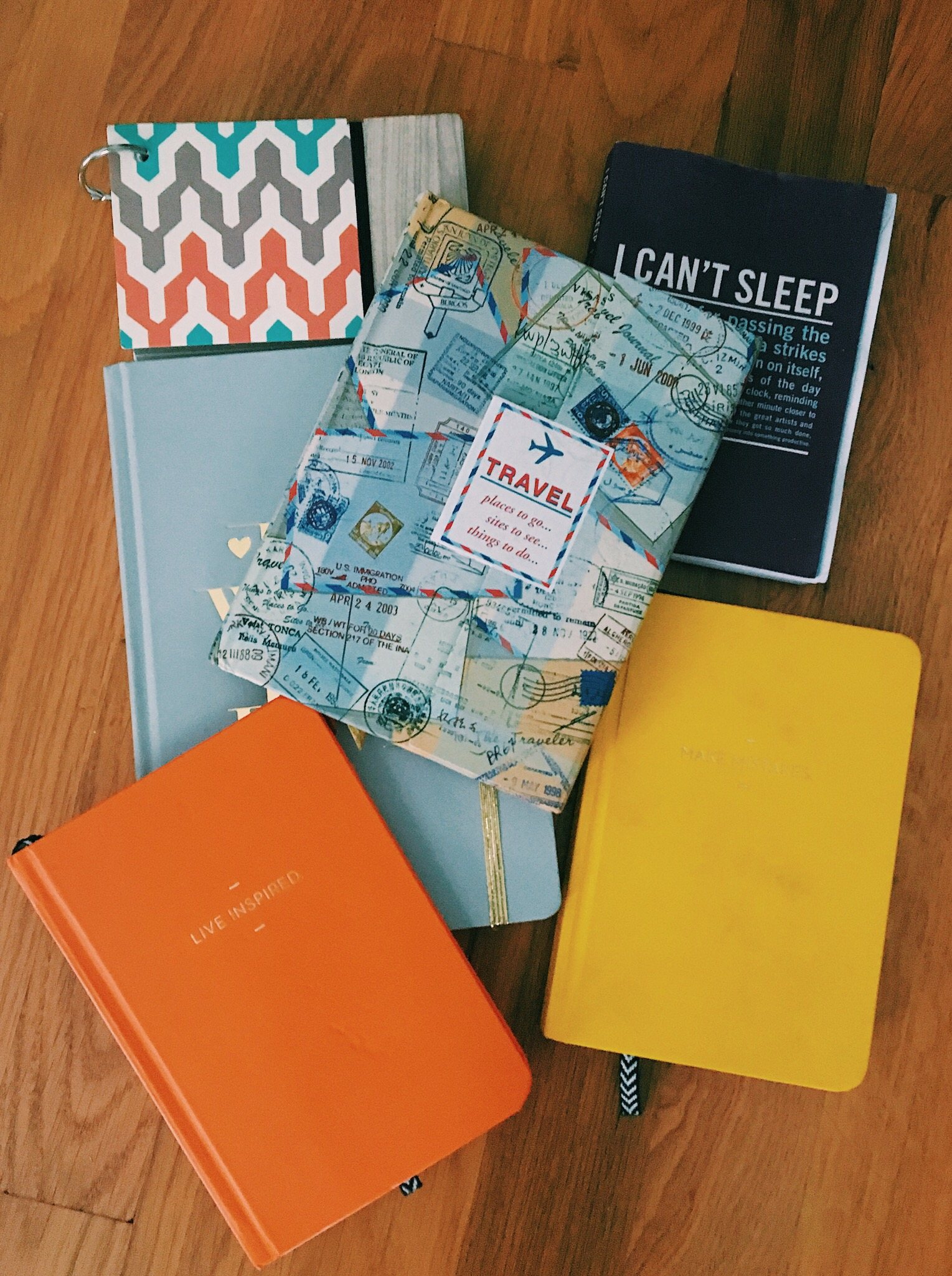 I keep several different journals at the same time, but each is about something unique. One is even dedicated to one trip I really miss (that's how specific you can get with your writing)!