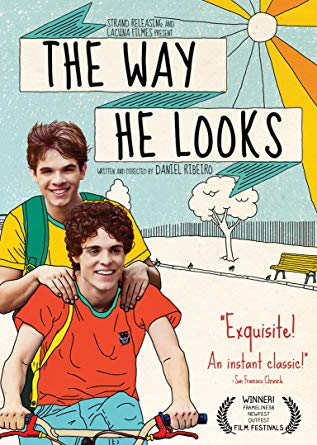 The Way He Looks - The way he looks is a Brazilian film about a blind teenage boy searching for his own independence while he falls in love with the new boy at school. This movie is cinematically gorgeous and one of my favorite movies of all time. You will fall in love with these characters as they navigate their relationship throughout the movie.