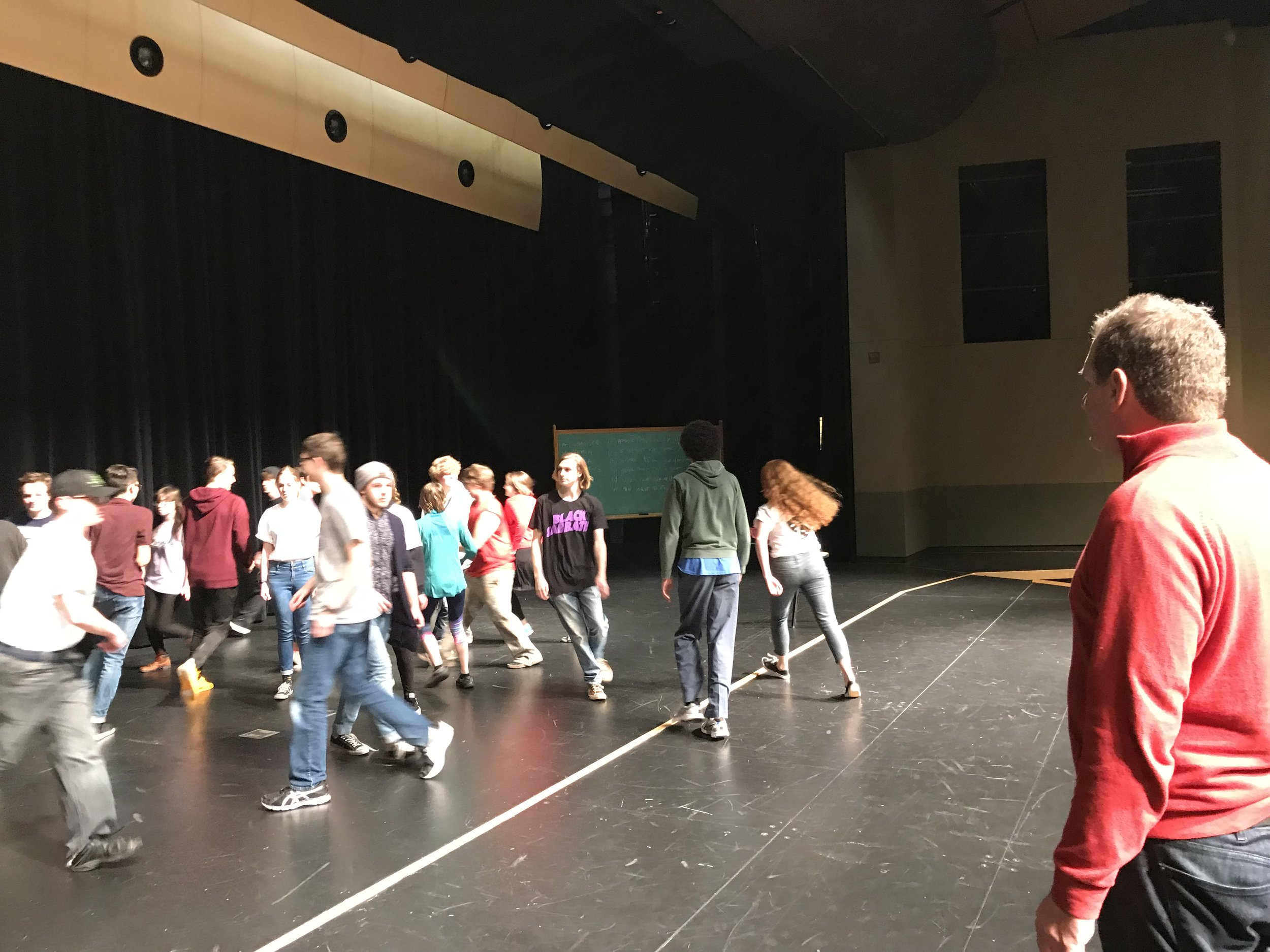 Teaching at Shadle High School in Spokane, WA