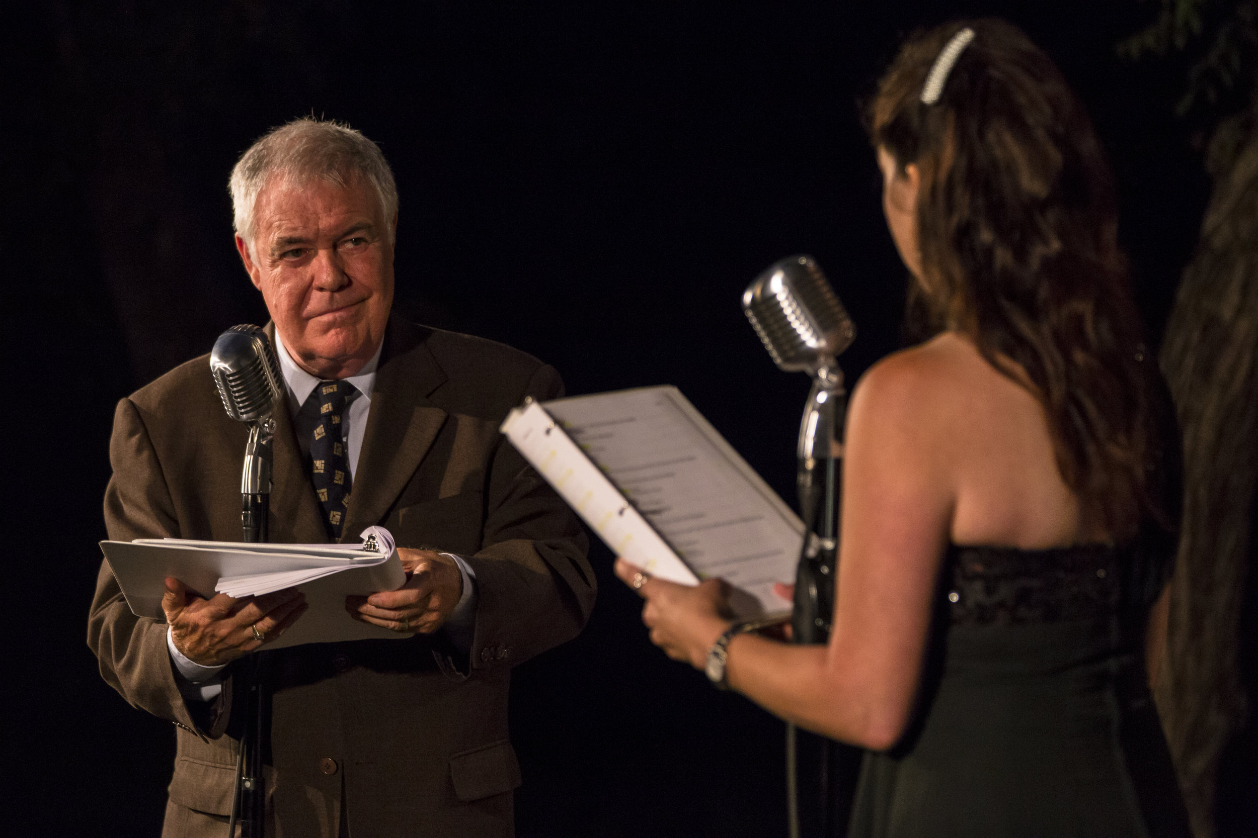 "Phil Proctor from ""The Firesign Theater"" with cast member Julie Millett"