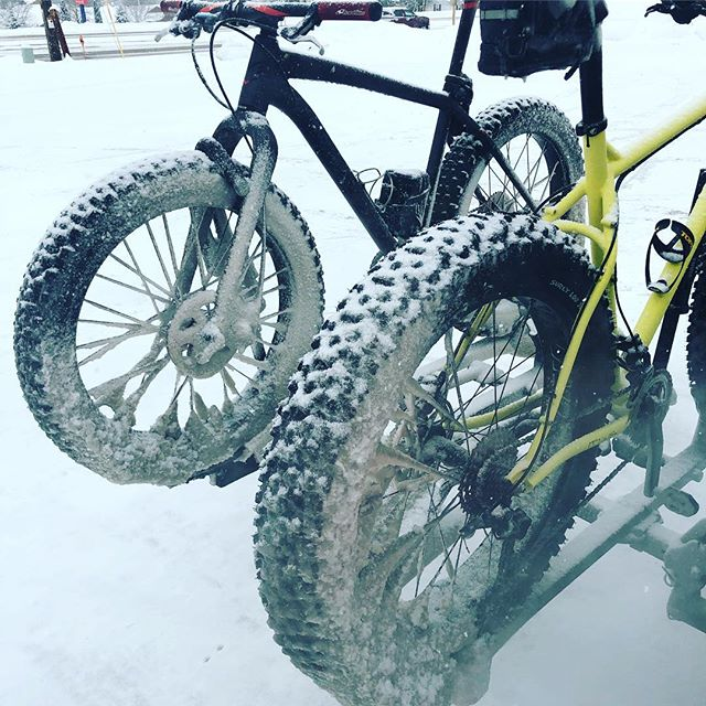 The roll out may be delayed a bit. #fatbiketroubles