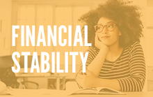 Creating bridges to financial stability for adults and families.
