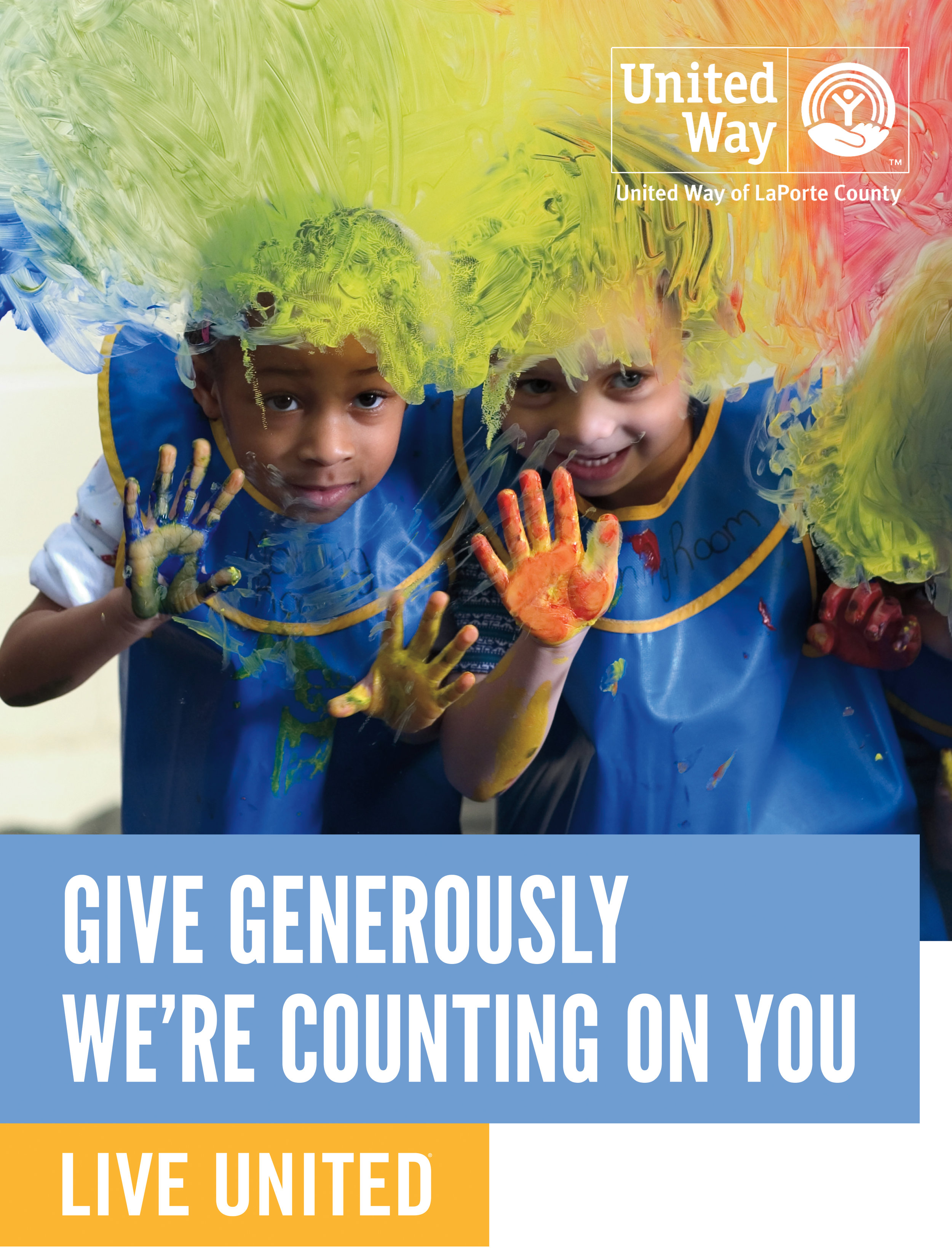 GIVE NOW! Join us in support of this year's Annual Campaign.