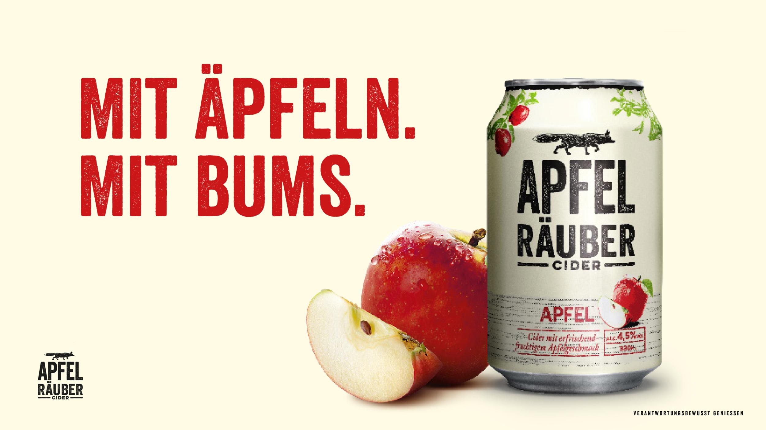 Apfel Räuber Cider - Building a lifestyle brand for Generation Z