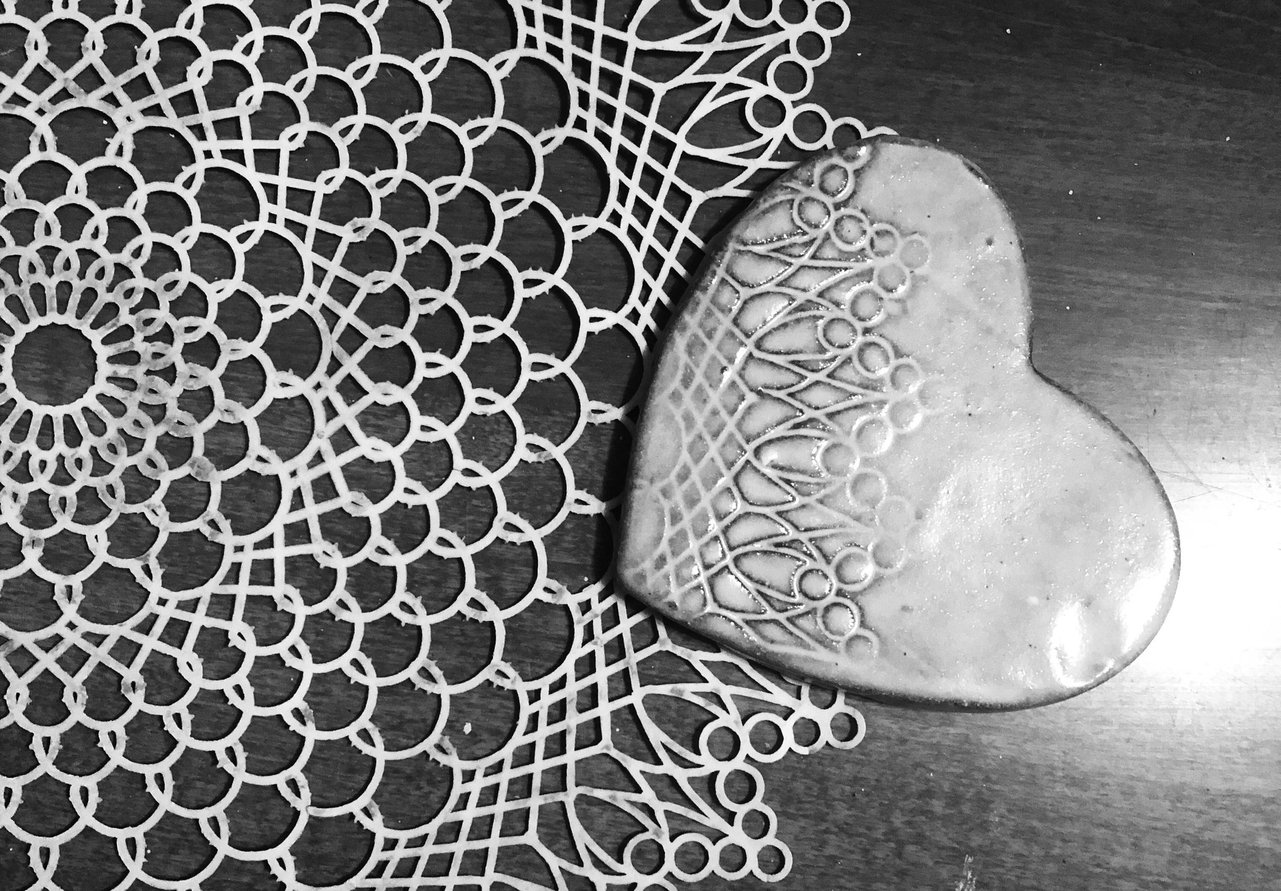 Lace fossil