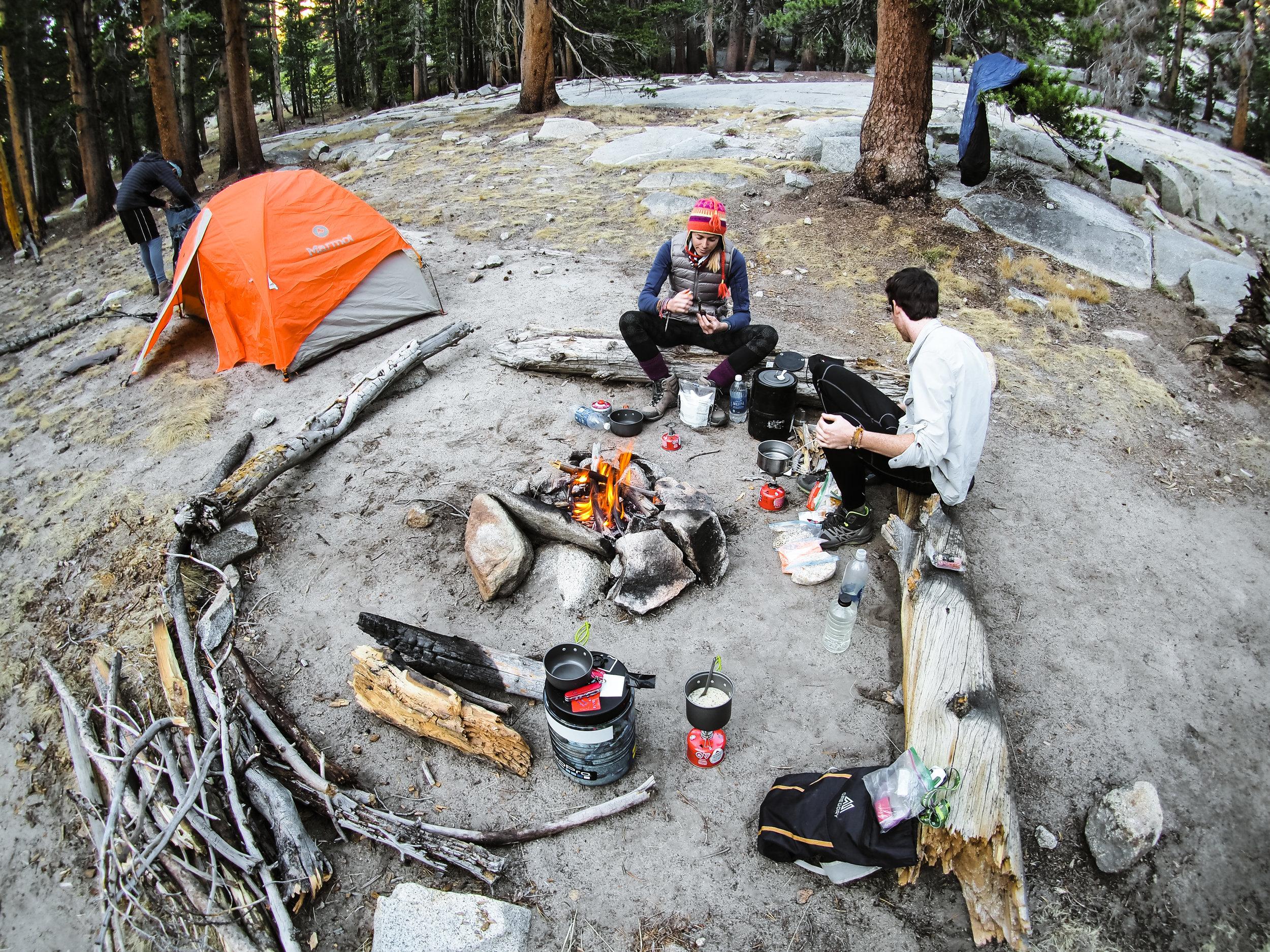 Camping near Tully Hole