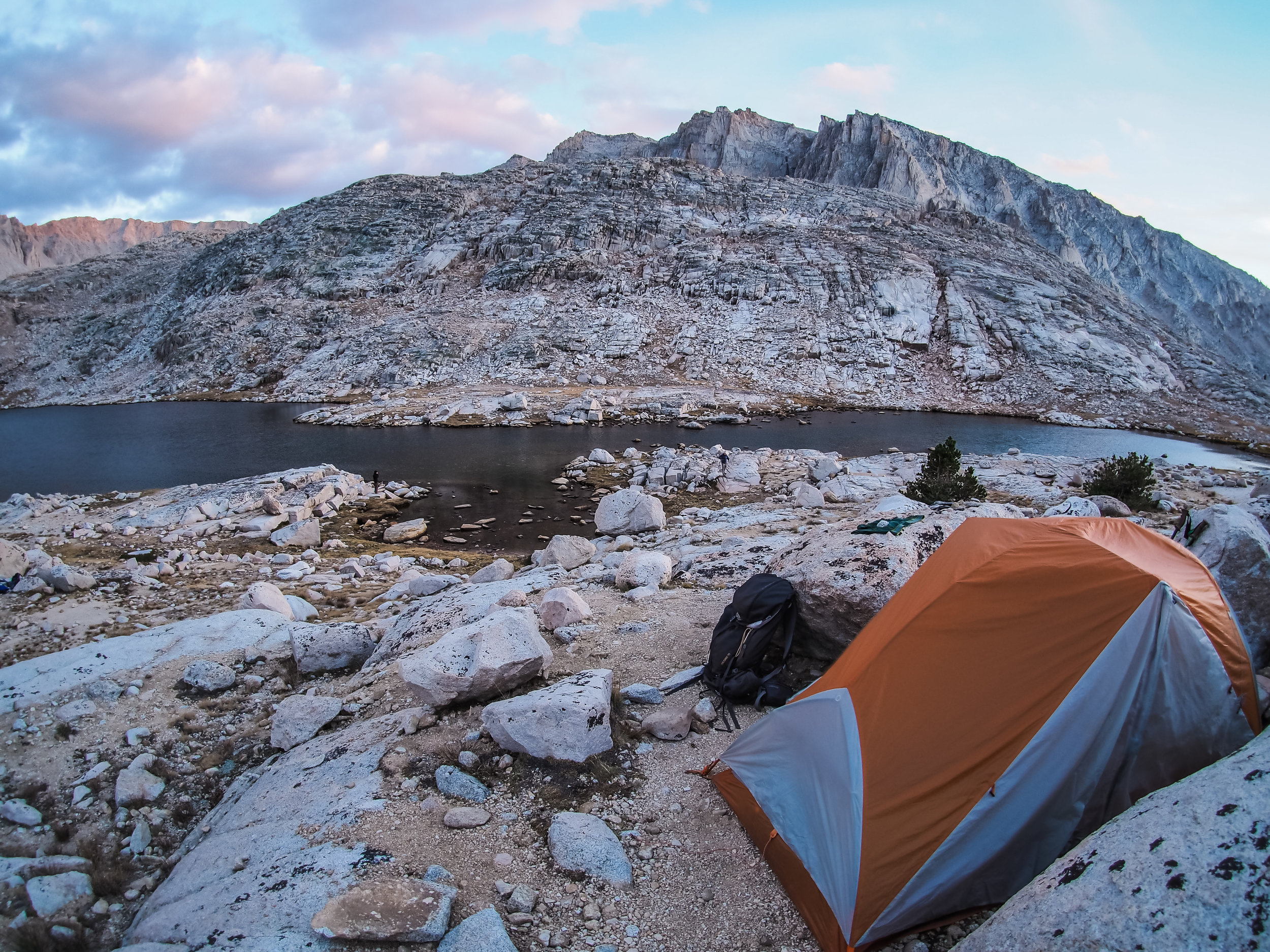 Final night on the JMT