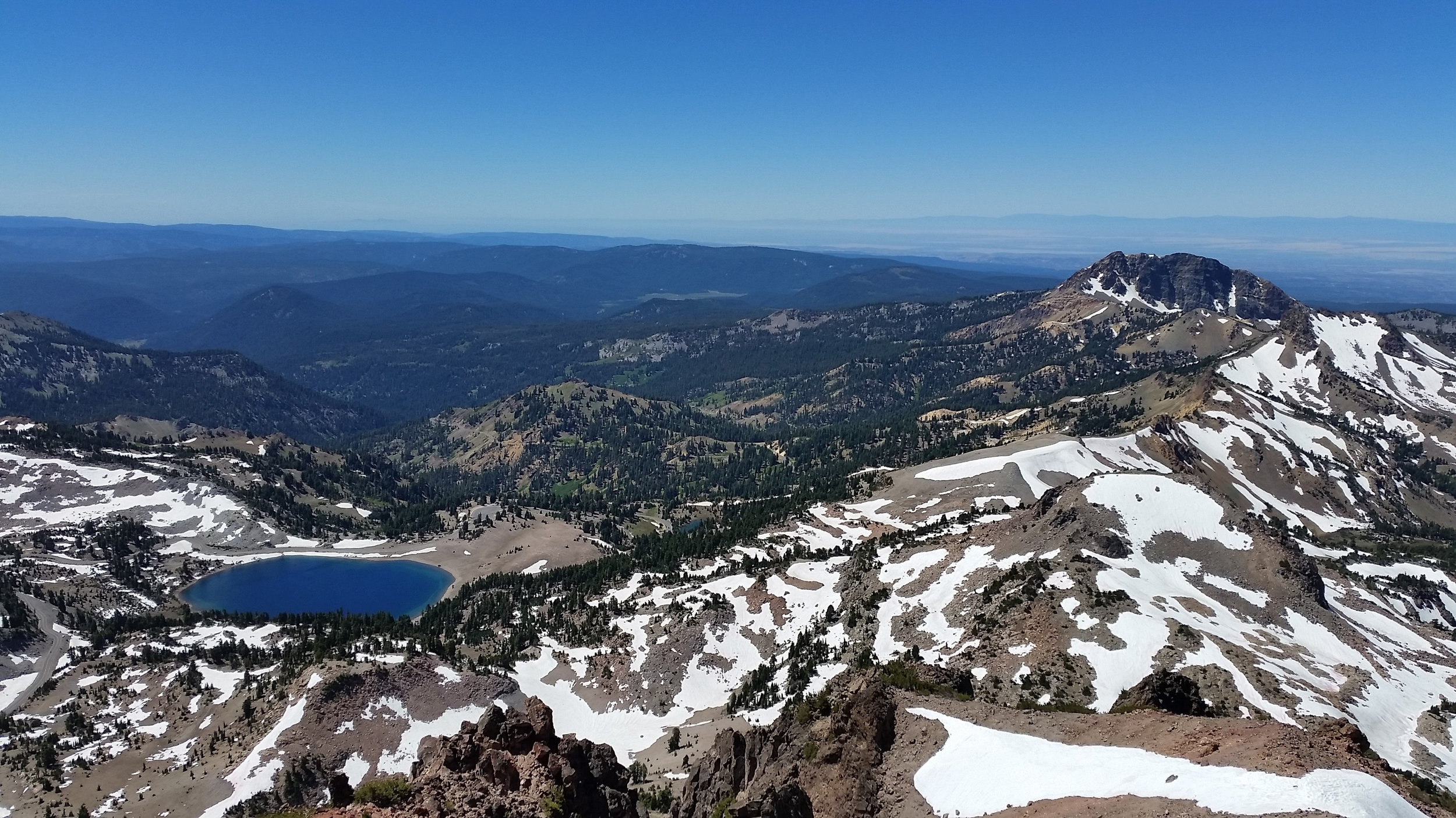 Took a rest day  and decided to climb Lassen Peak