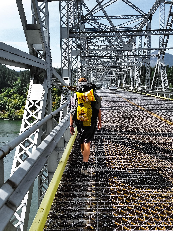 Crossing the Bridge of the Gods