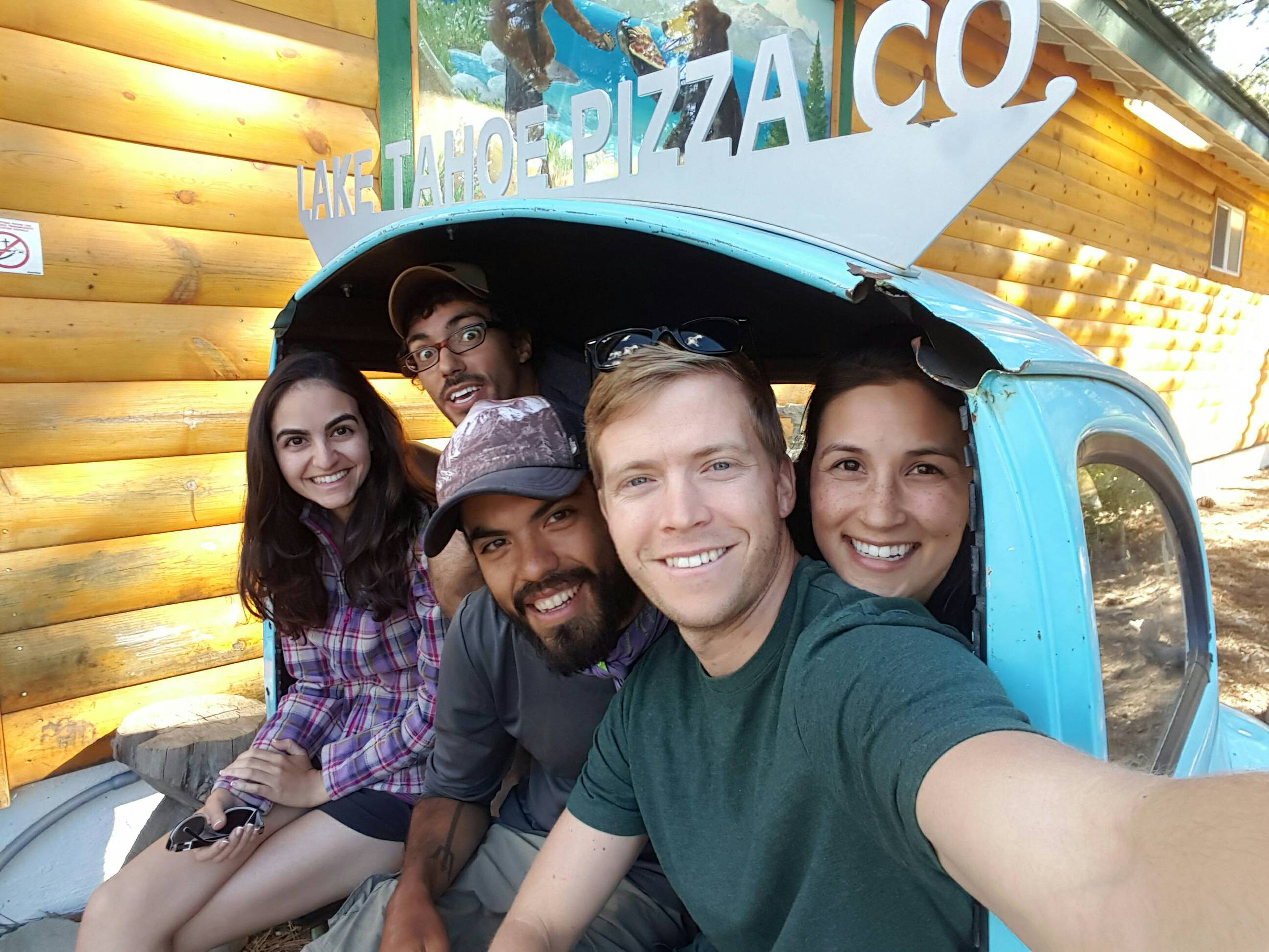 My awesome friends who came to visit me in S. Lake Tahoe (Negar, Keith, Tom, and Alyssa)