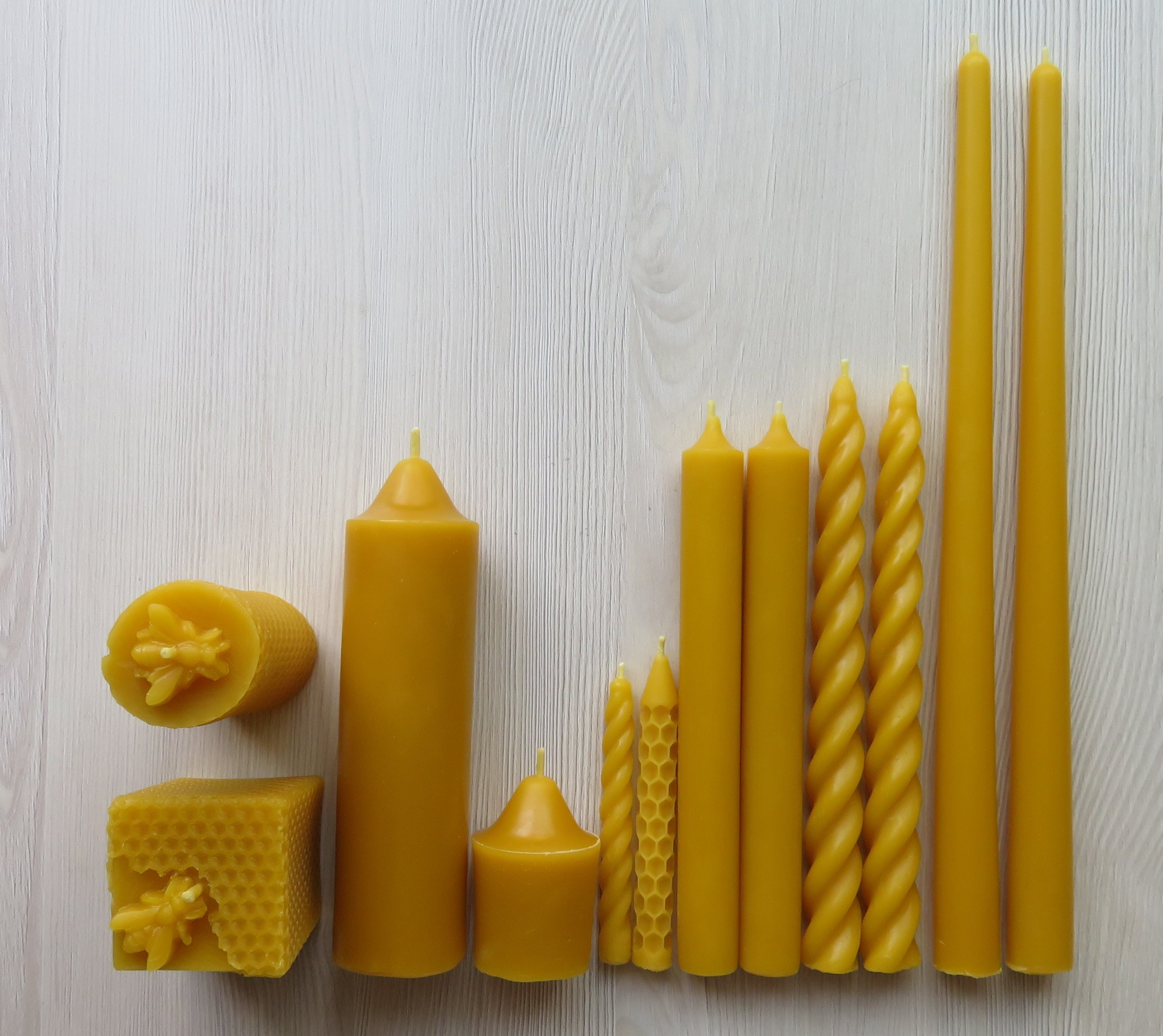 Honey Bee Candles handmade by Priscilla and Pravana