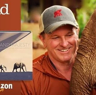 My time with elephants has changed my life.  Power and Majesty,  my book about and for them,  is now available.