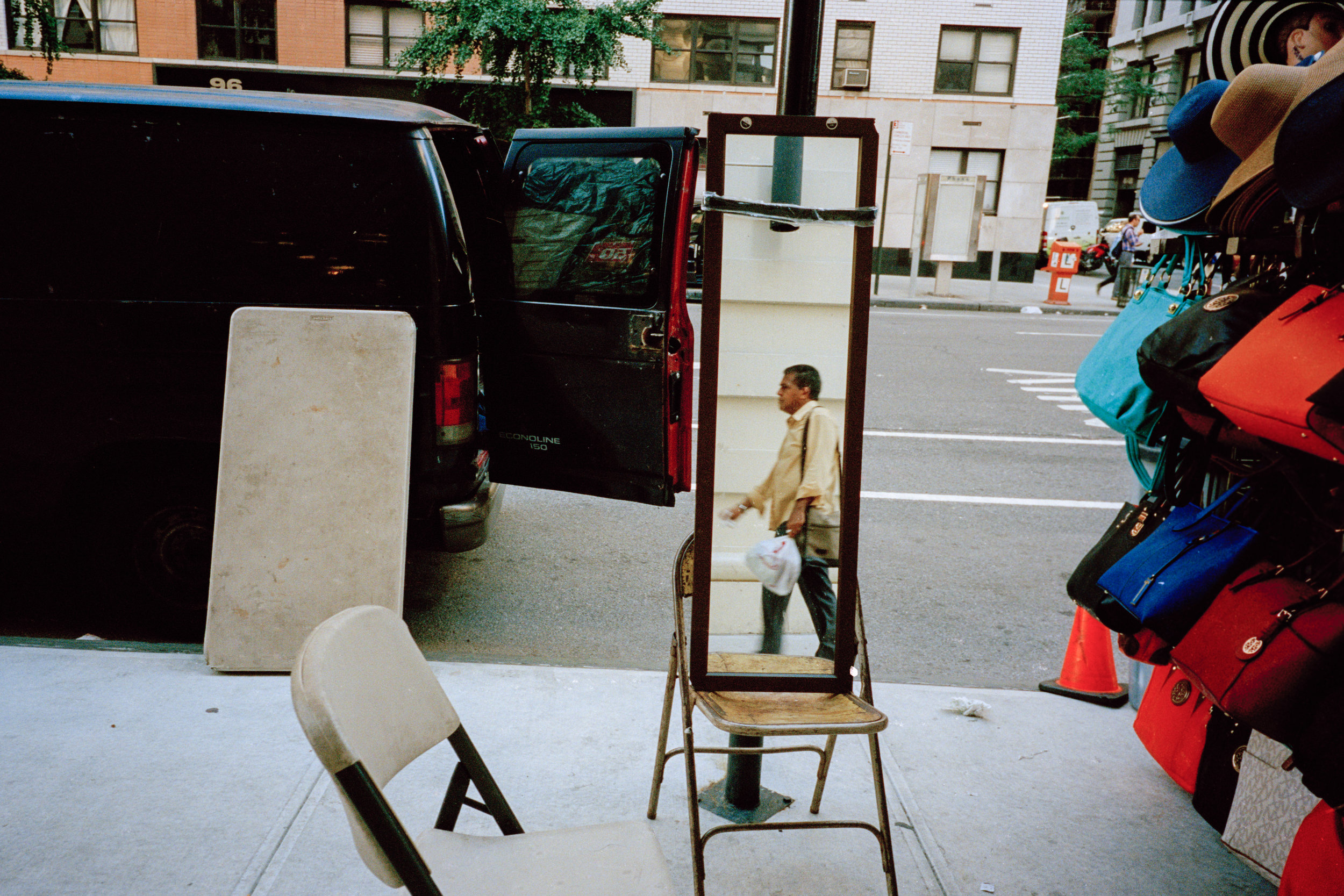 A street vendor on the fifth ave