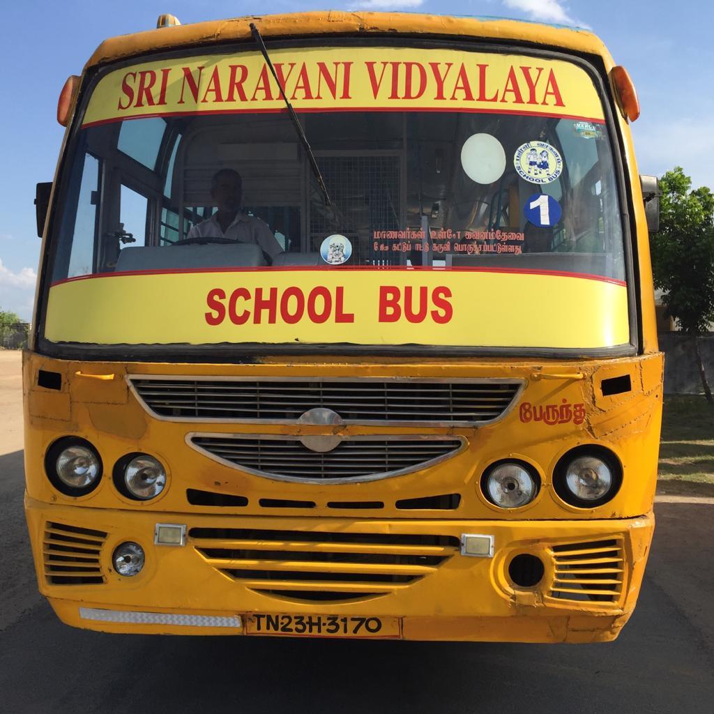 Provide a Safer Mode of Transport - For Our Green Sakthi Children