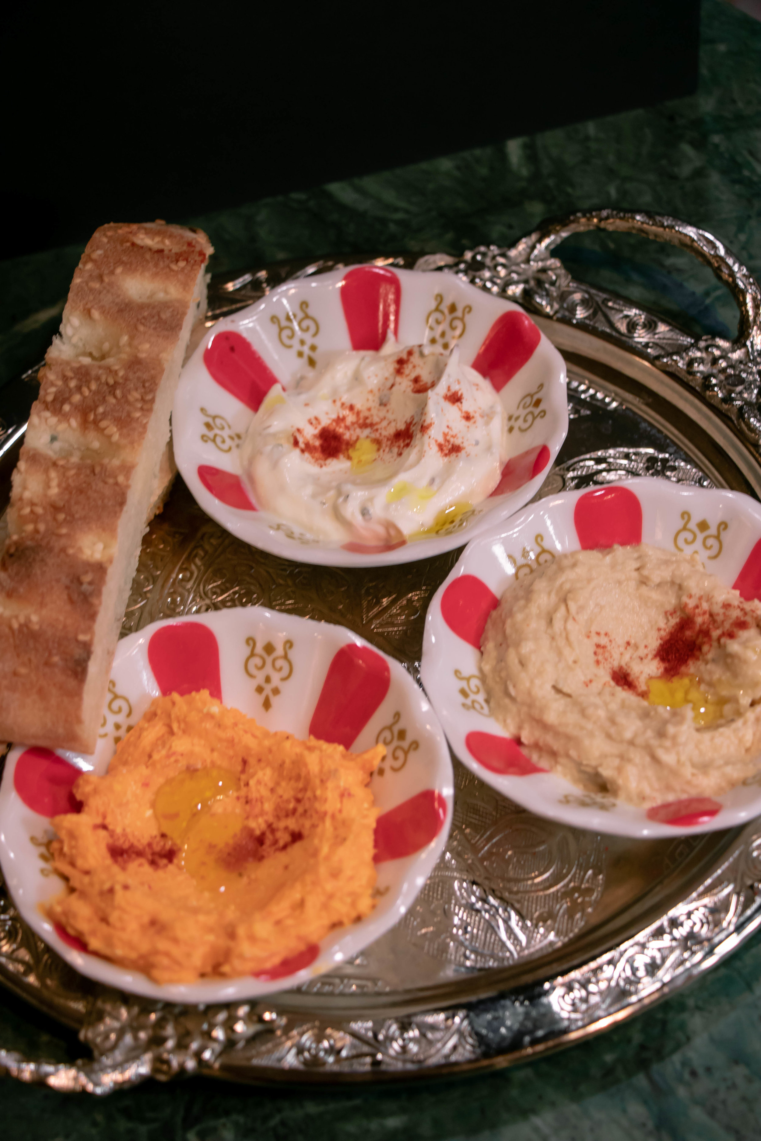 Trio of Dips -