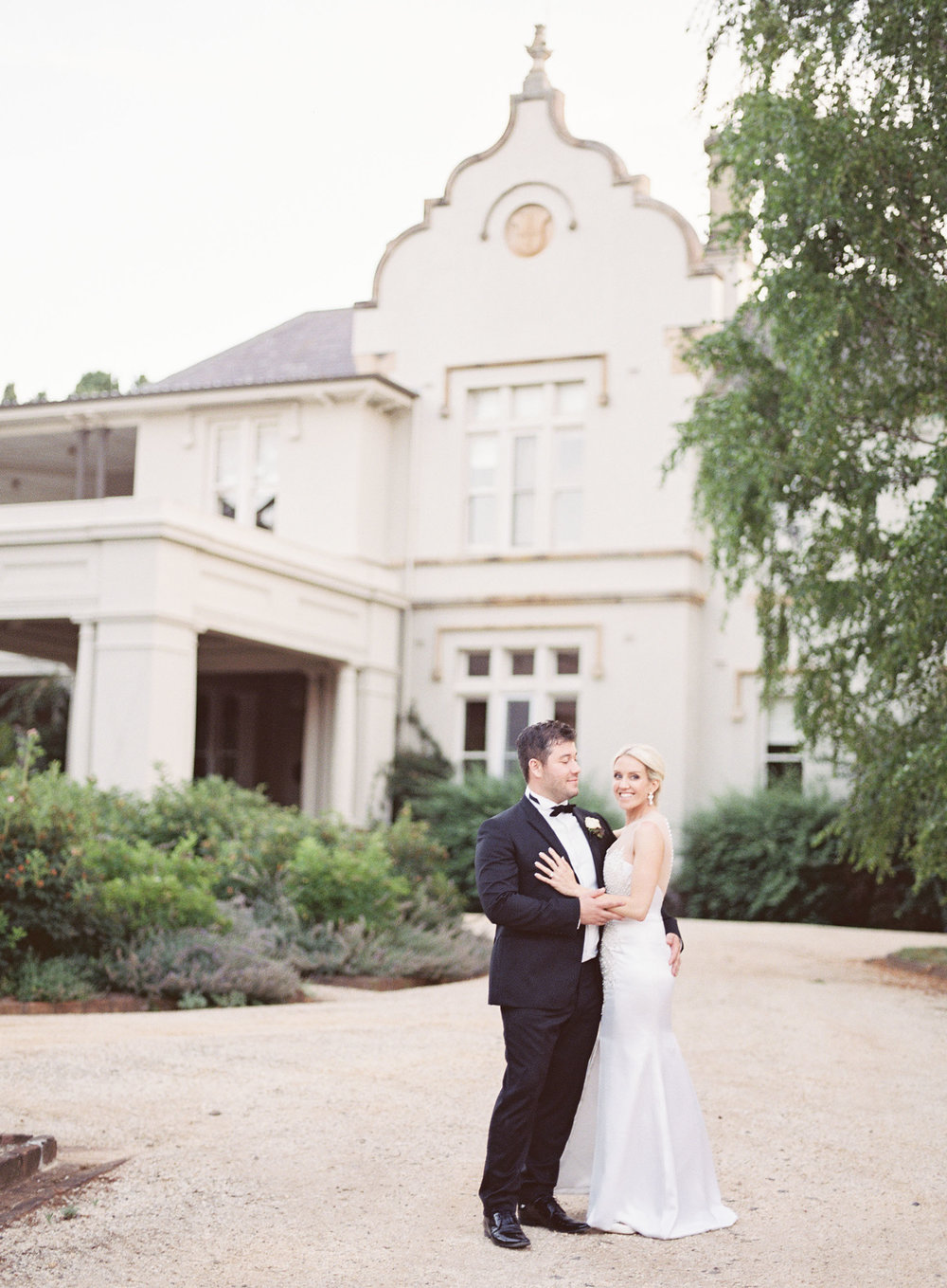 Hopewood House - Kylie & Gabriel - Wedding Day Gallery - Bowral Southern Highlands - ceremony and reception - shot - Couple front of Residence.jpeg