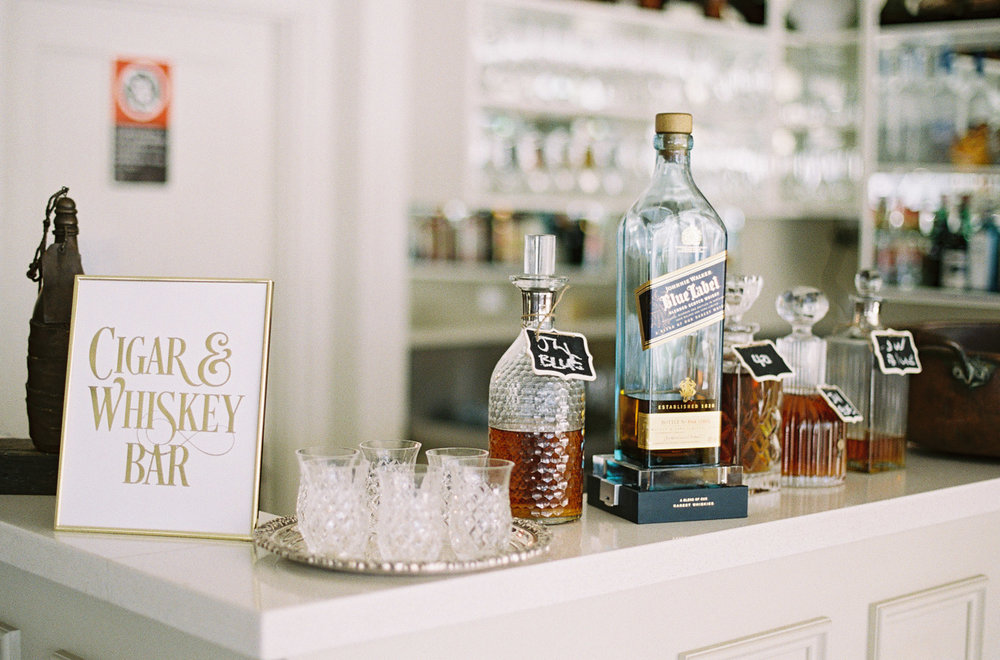 Hopewood House - Kylie & Gabriel - Wedding Day Gallery - Bowral Southern Highlands - ceremony and reception - shot - The Chukka Bar - Cigars and Whiskey.jpeg