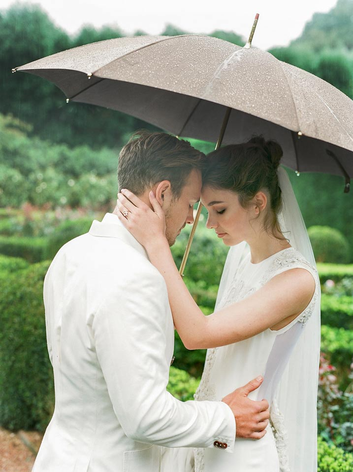 An Intimate and Romantic Rainy Day Wedding - Photographer - Amelia Soegijono Photography & Friends - Photography Shoot - Shot  - Couple Rain.jpg