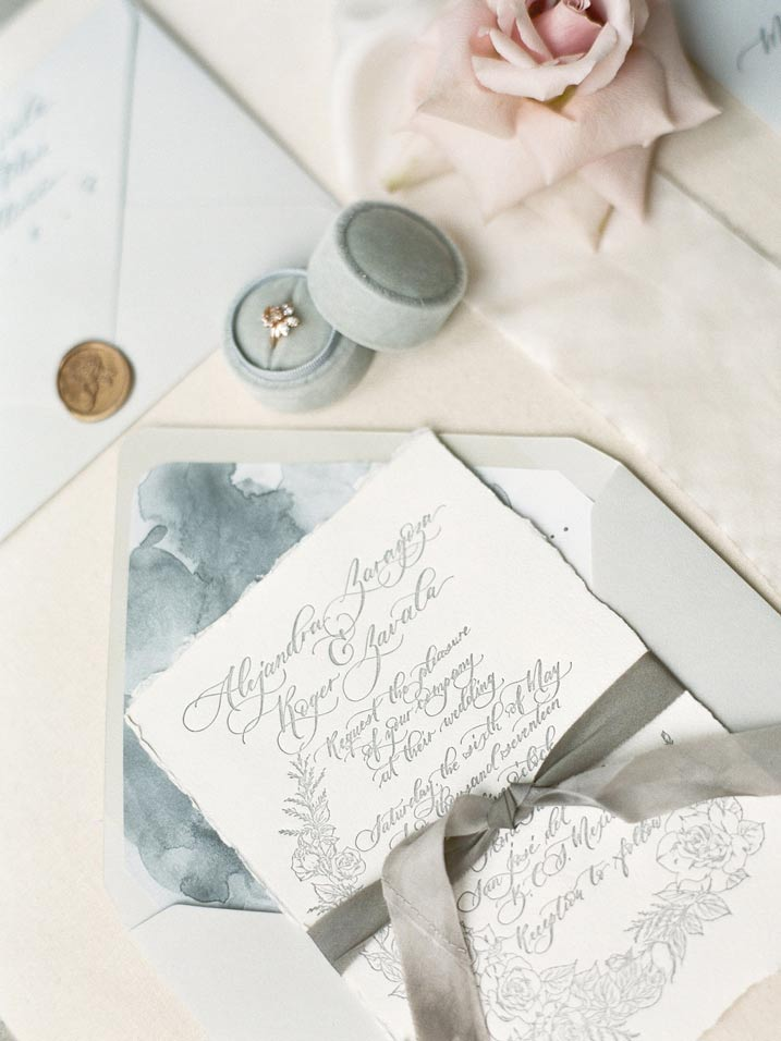 An Intimate and Romantic Rainy Day Wedding - Photographer - Amelia Soegijono Photography & Friends - Photography Shoot - Shot - Invitations.jpg