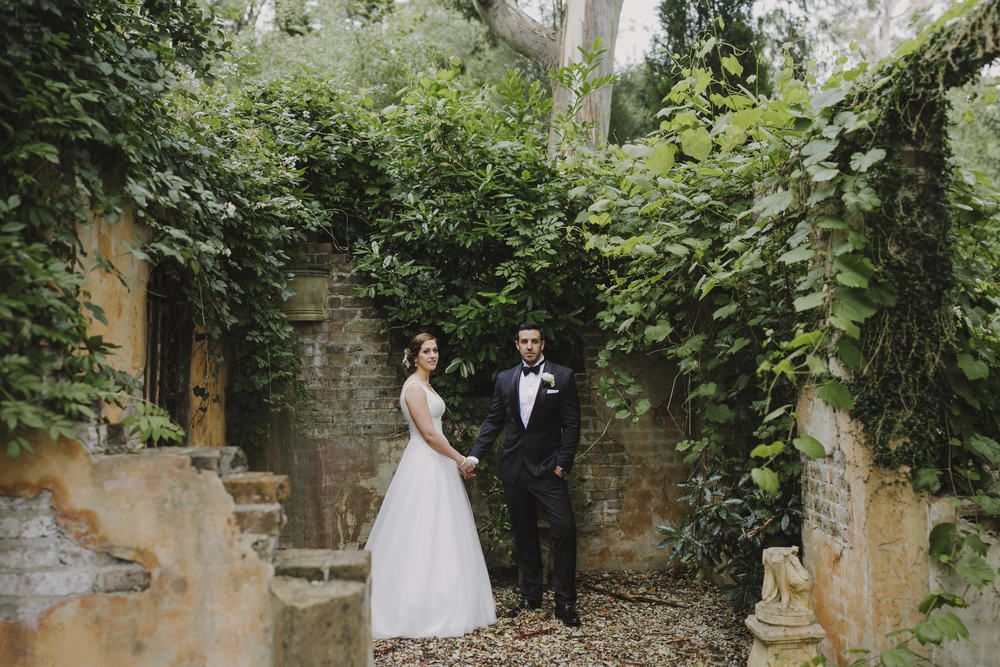 Justin Aaron Photography - Elizabeth & Damien  - Hopewood House - Wedding Gallery - Garden Ruins Couple.jpeg