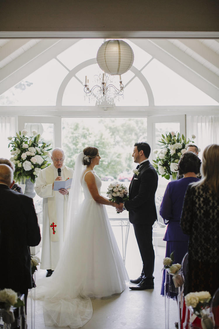 Justin Aaron Photography - Elizabeth & Damien  - Hopewood House - Wedding Gallery - Pavilion Downstairs Ballroom - Indoor Chapel - Ceremony Couple 2.jpeg