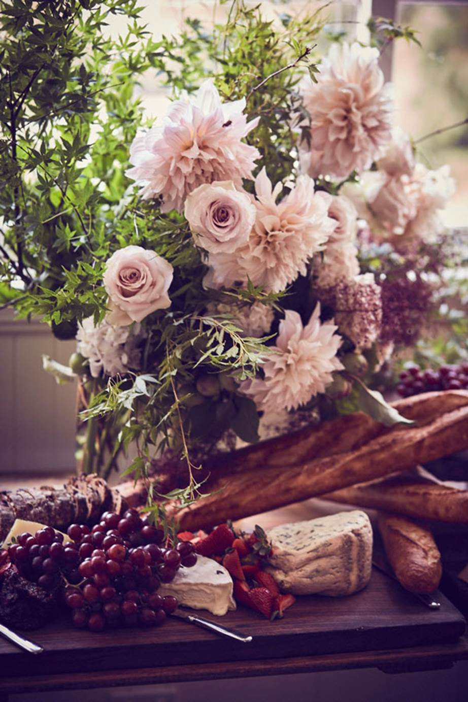 Hopewood House - Weddings  - Harpers Bazaar - Woodland Wedding in the Souther Highlands - Alyssa and Adriano - Botanicals and grapes.jpg