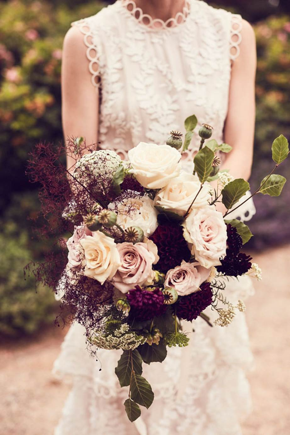 Hopewood House - Weddings  - Harpers Bazaar - Woodland Wedding in the Souther Highlands - Alyssa and Adriano - Floral Bunch.jpg