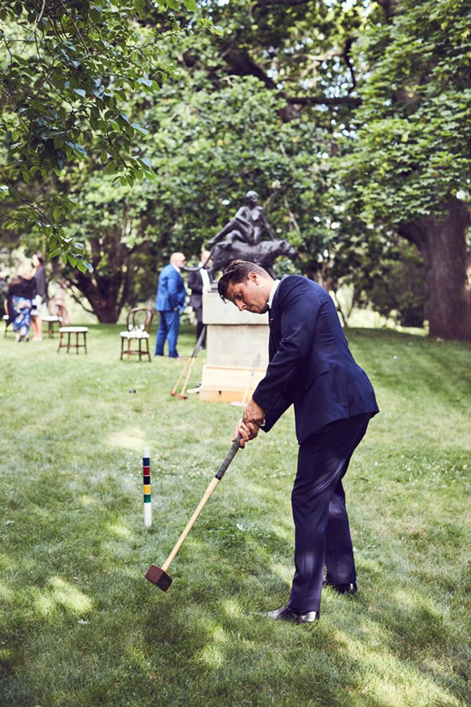 Hopewood House - Weddings  - Harpers Bazaar - Woodland Wedding in the Souther Highlands - Alyssa and Adriano - Lawn games.jpg