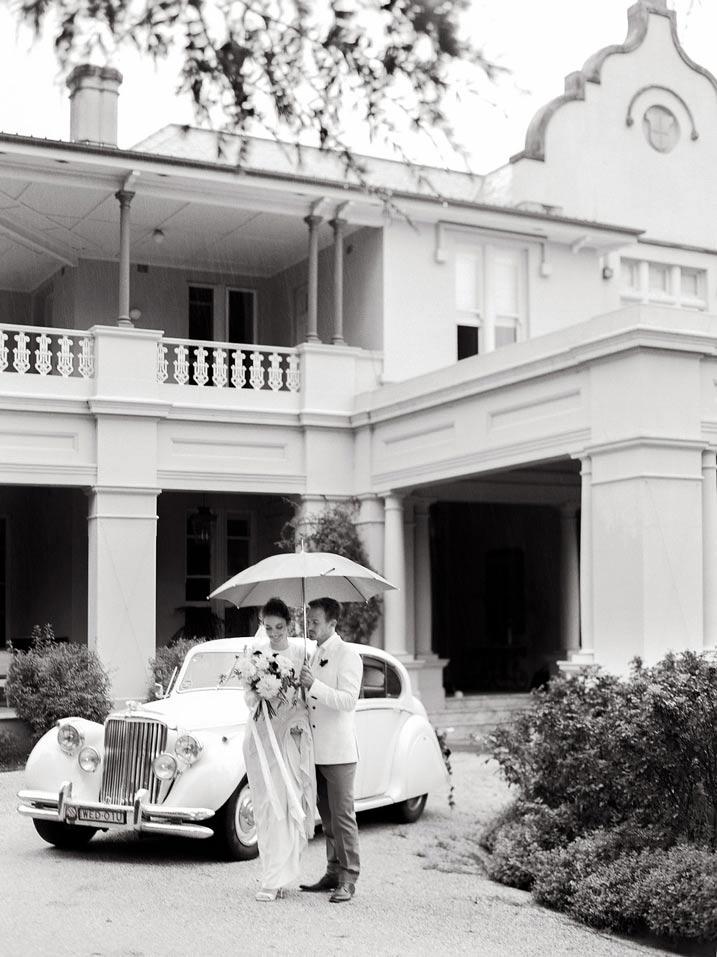 An Intimate and Romantic Rainy Day Wedding - Photographer - Amelia Soegijono Photography & Friends - Photography Shoot - Shot - Couple at Residence.jpg