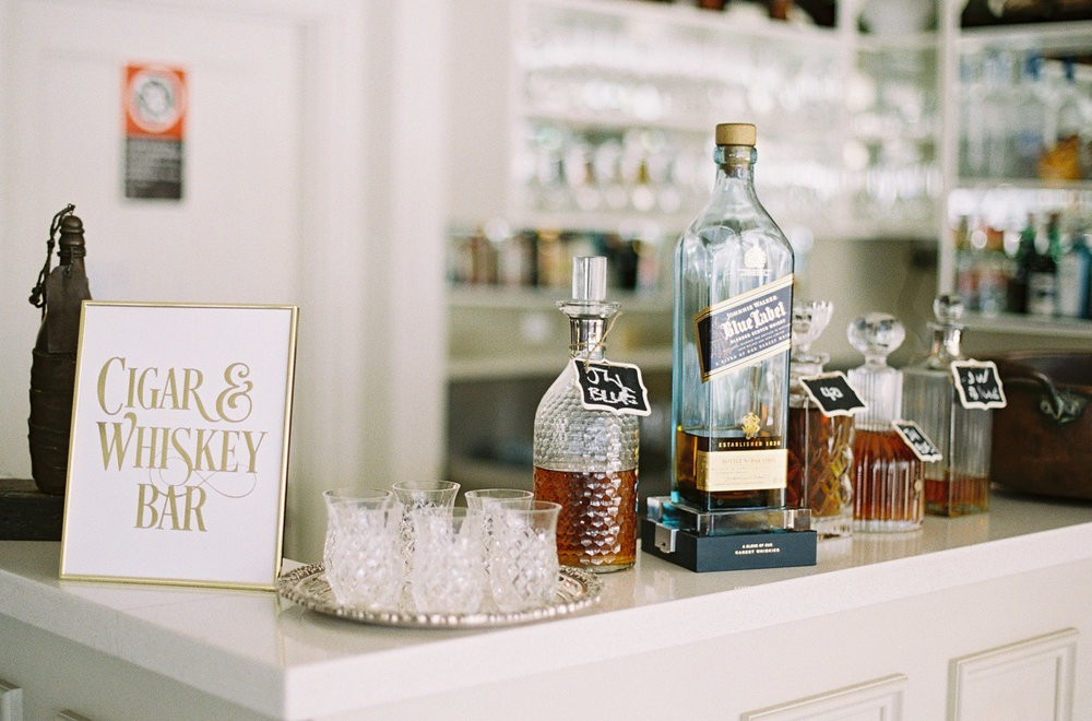 Hopewood House - Kylie & Gabriel - Wedding Day Gallery - Bowral Southern Highlands - ceremony and reception - shot - The Chukka Bar - Cigars and Whiskey.jpg