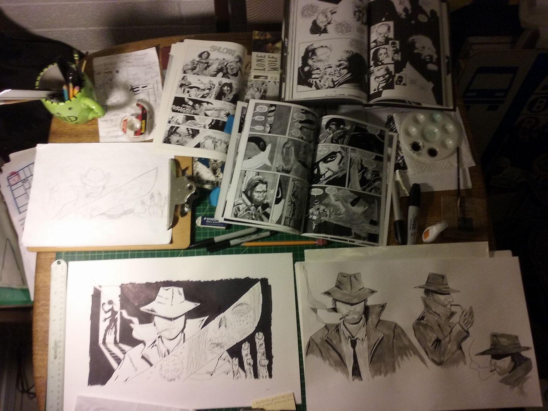 Ernesto's desk