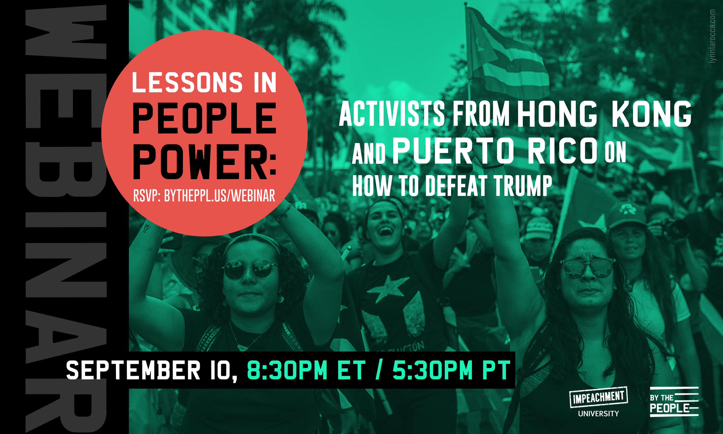 Lessons in People Power - Activists from Hong Kong and Puerto Rico on How to Defeat Trump