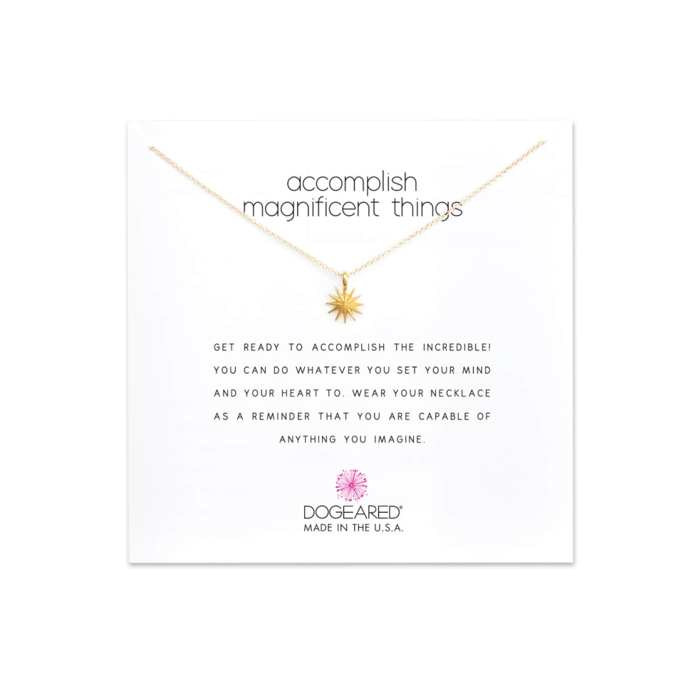 Dogeared Necklace - I have loved Dogeared for years and years. They make such dainty (my favorite), beautiful pieces of jewelry with a special meaning attached to each one. I think this is something that is so thoughtful for any gift giving occasion.