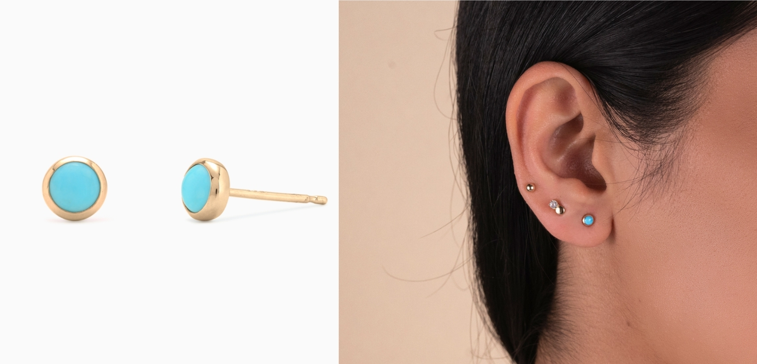 Mejuri Turquoise Studs - Another jewelry brand I love. These are on the expensive side, but if you have someone who is hard to buy for and you know they will love something like this and get their use out of them, I think it's worth the investment. Not to mention the color is gorgeous.