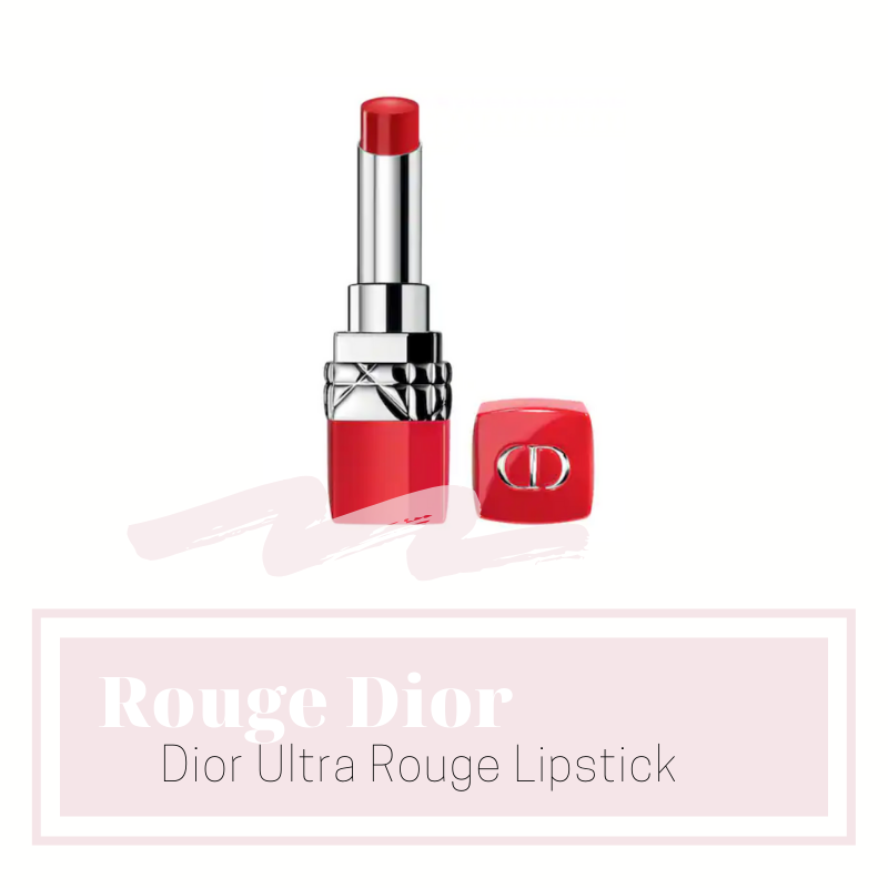 rouge dior ultra rouge lipstick - I love a red lipstick. They're timeless and so gorgeous. I wanted to add another one to my small collection and I went with the shade 999 Ultra Dior - Iconic Red. It compliments my skin tone perfectly I'll be able to wear it when I have a little bit of a tan because the undertones of the shade are very versatile. This can easily be brightened up with a coral lipliner as a base or deepened with a plum colored lip liner!