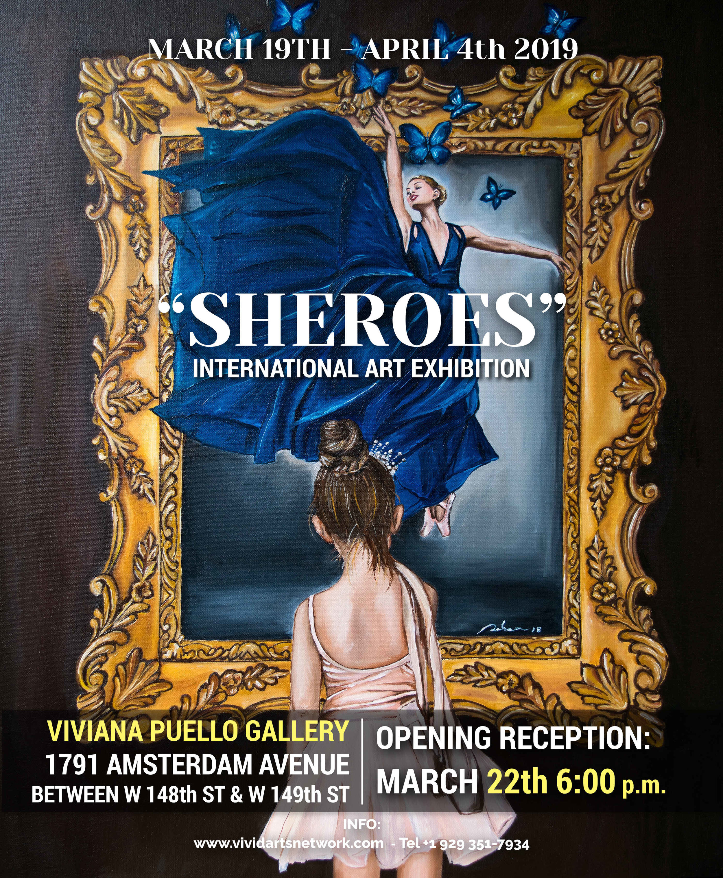 """SHEROES"" - INTERNATIONAL ART EXHIBITION"