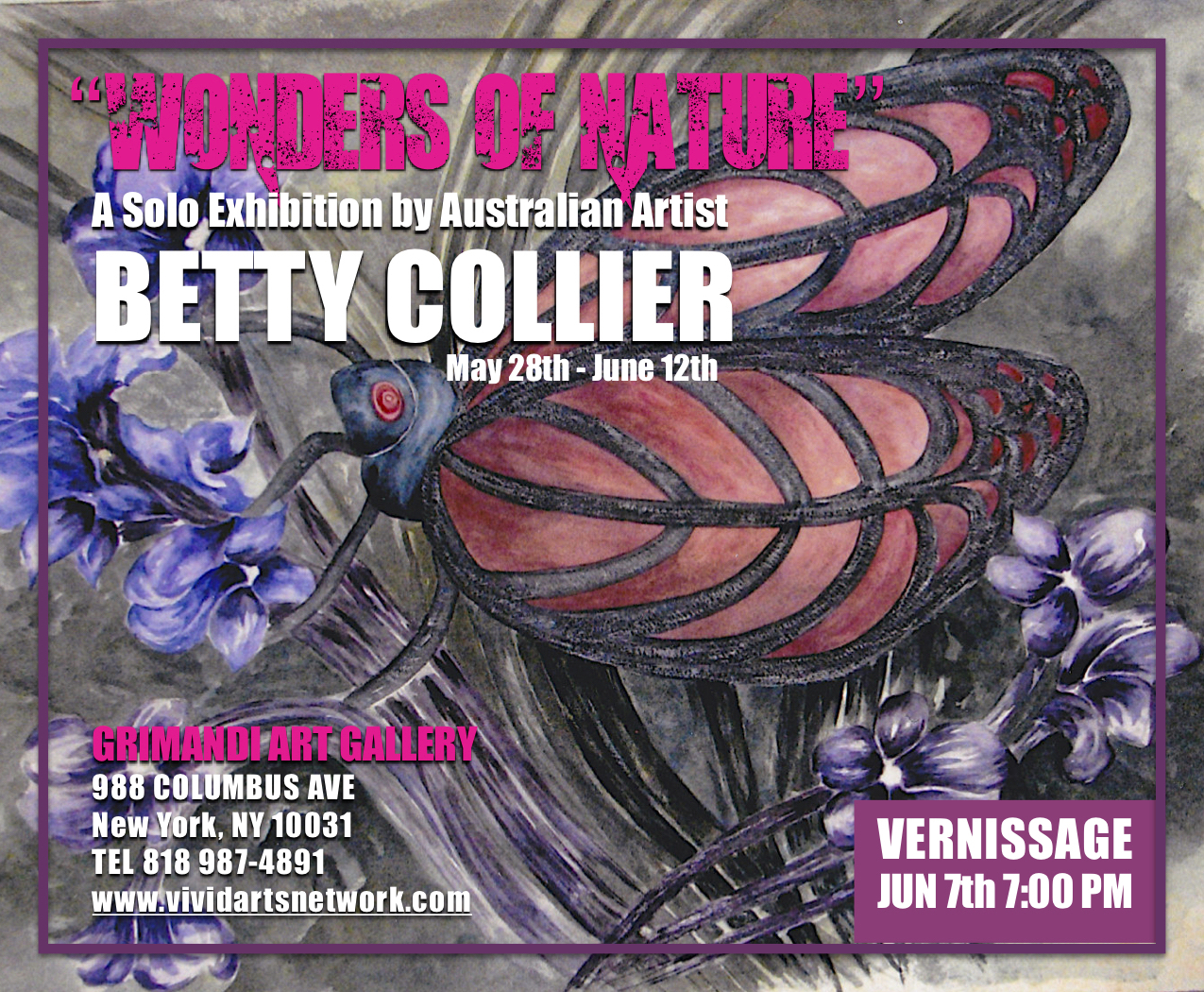 """Wonders of Nature"" - A Solo Show by Artist Betty Collier"