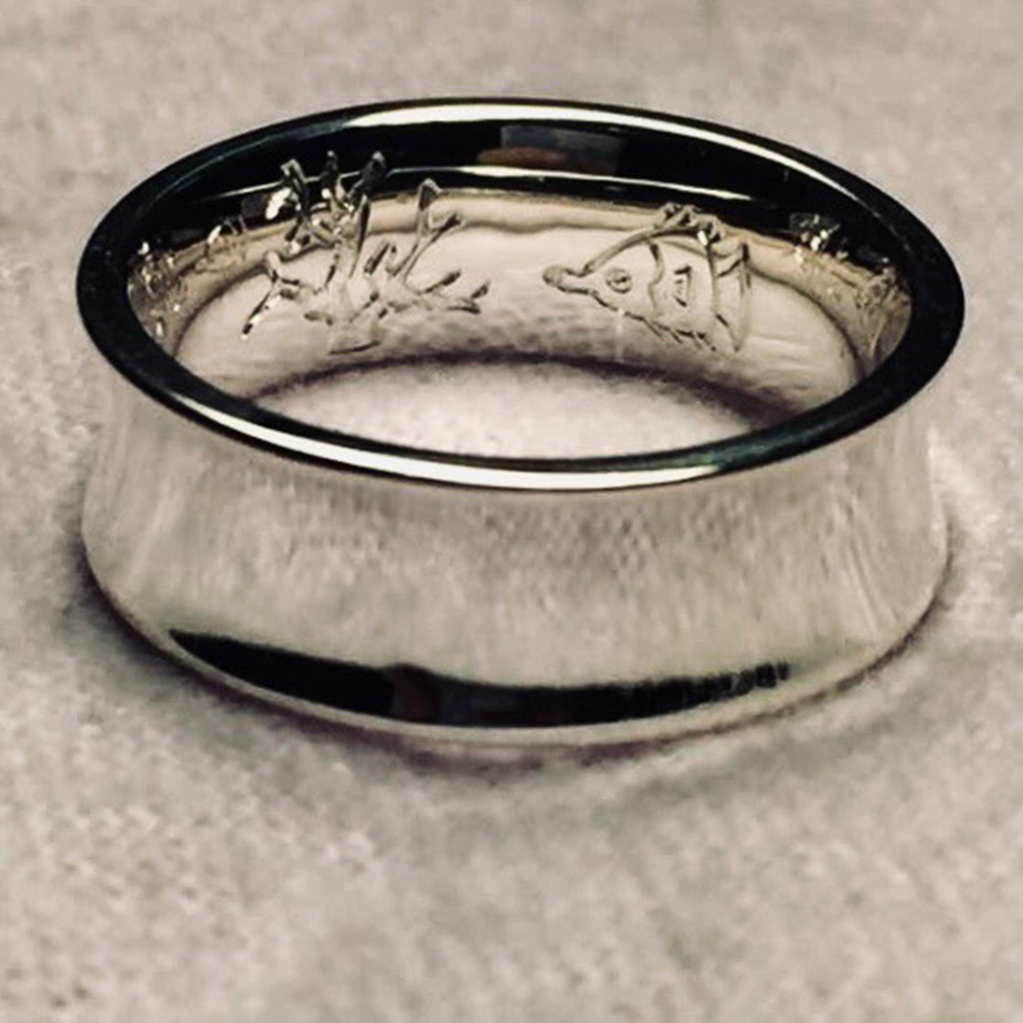 Inner Ring Engraving