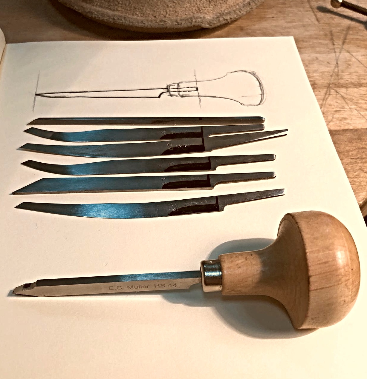 Different gravers for beginner hand engraving.jpg