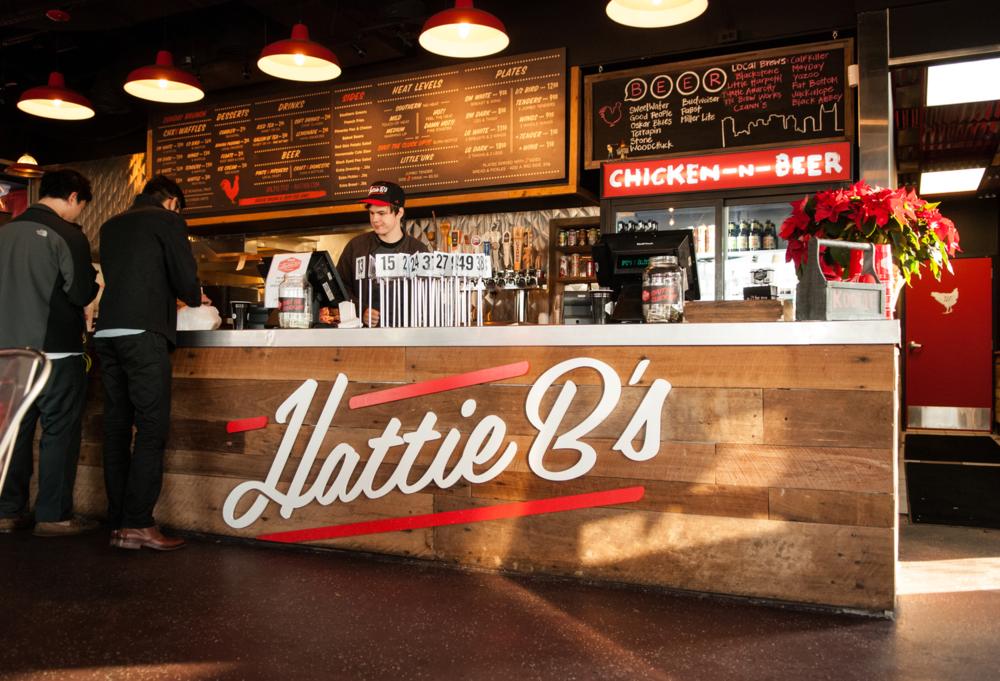 Hattie B's in Midtown  (best BBQ!)