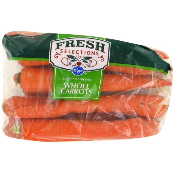 7. Frozen Carrots
