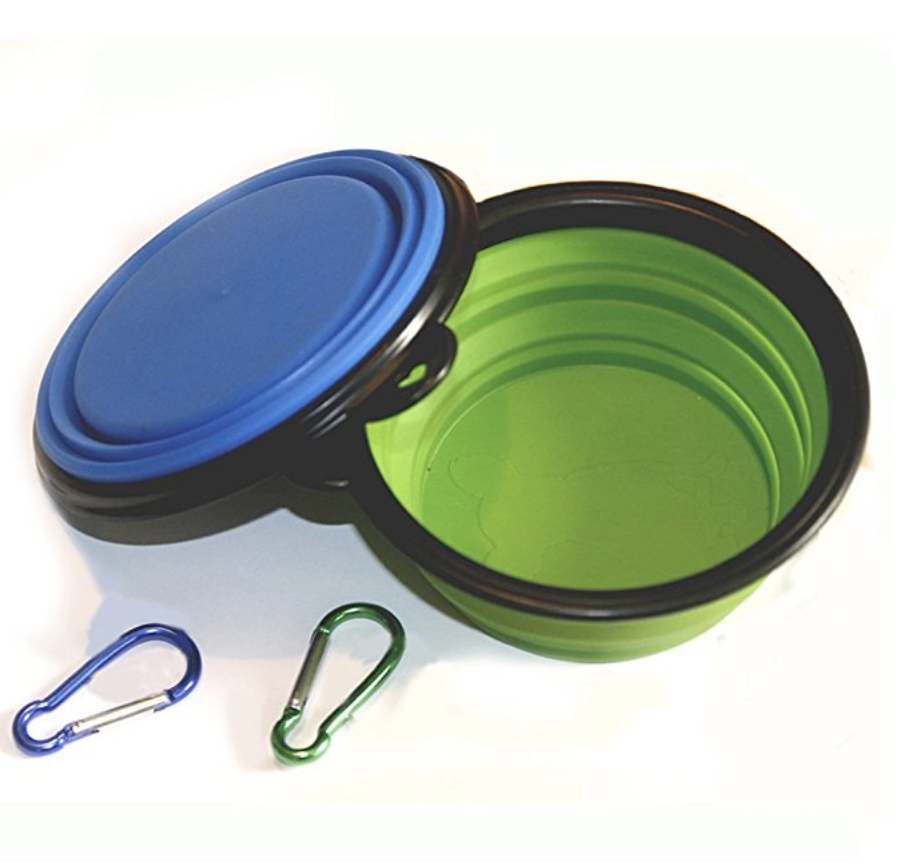 11. Collapsible Water Bowl for Travel